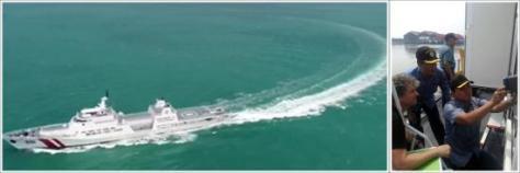 Uji Kelaikan KN Tanjung Datu 1101 Bakamla (TNI AL)