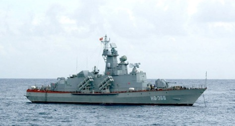 Vietnam Project 1241.8 Tarantul IV missile corvette (navy recognition)
