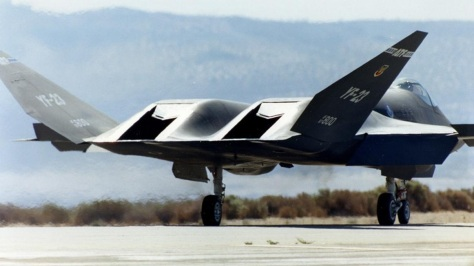 YF-23 Black Widow II (American Innovation)