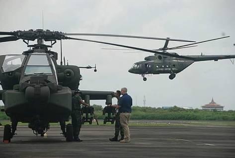 AH-64 E Apache TNI AD (Lembaga Keris)