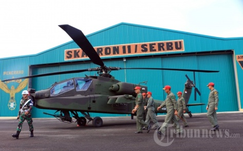 AH-64E Apache Guardian TNI AD (Tribunnews)