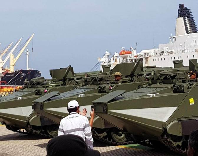 Lima Unit Arisgator Kembali Perkuat Alutsista TNI AD
