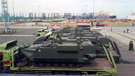 Arisgator arrives at Tanjung Priok Car Terminal (24012018) (Defence.pk)