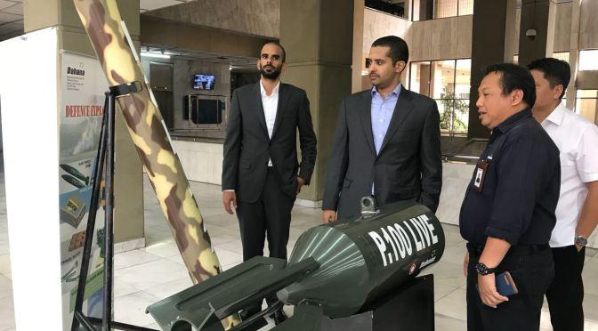Delegasi Bisnis Qatar Kunjungi Dahana