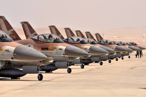 F-16 Israel (The Aviationist)