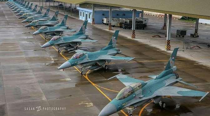 Penyerahan 24 Unit Pesawat Tempur F-16