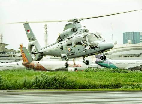 Flight test training, Eurocopter AS565 Panther. (defence.pk)