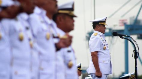 Kepala Staf Angkatan Laut (Kasal) Laksamana TNI Ade Supandi (Tempo)
