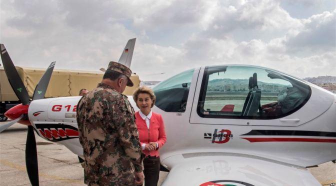 Jerman Sumbangkan Peralatan Militer untuk Yordania