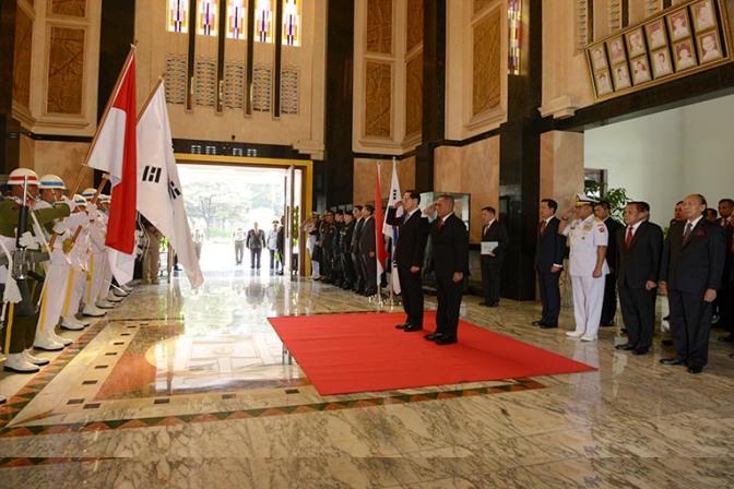 Korea Selatan Tingkatkan Kerjasama dengan Indonesia Menjadi Kemitraan Khusus