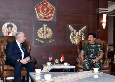 Panglima TNI Terima Kunjungan Dubes Amerika Serikat (Pen TNI)