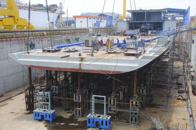 Pembangunan LPD oleh PT PAL (Photo)