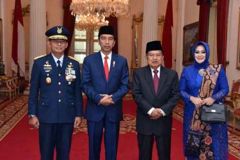 Pelantikan Kasau Marsekal TNI Yuyu Sutisna, S.E., S.Sos., M.M.