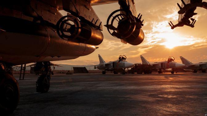 Tujuh Pesawat Militer Rusia Rusak akibat Diserang Pemberontak Suriah
