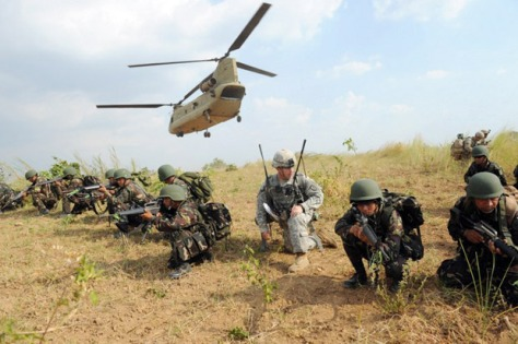 Tentara AS dan Filipina (Ist)