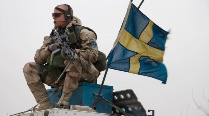 Swedia Sebar Pamflet Antisipasi Perang