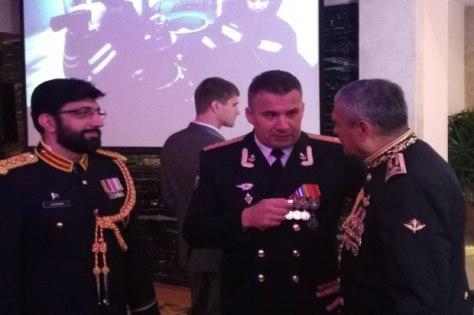 Atase Militer Kedutaan Besar Rusia, Kolonel Nikolay Nikolayuk. (Sindonews)