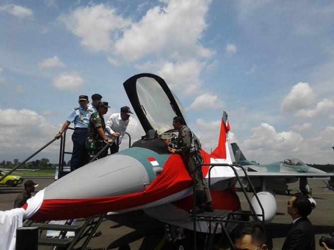 24 Unit Pesawat F-16 C/D Resmi Perkuat Alutsista TNI AU