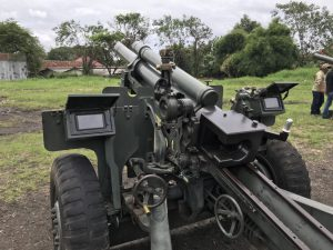 Howitzer Cannon Positioning Alignment And Monitoring System 2