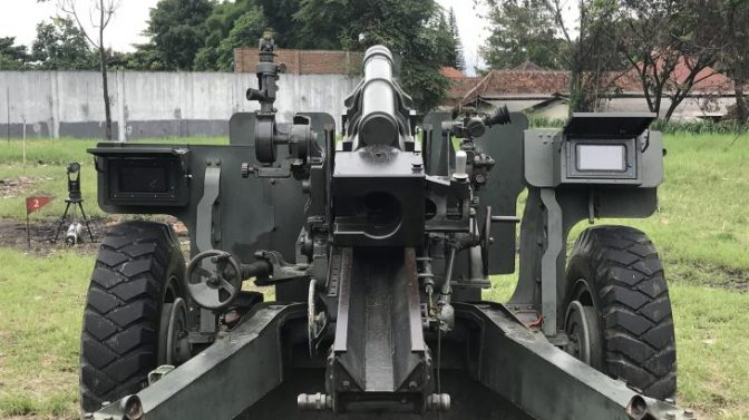 Howitzer Cannon Positioning Alignment And Monitoring System