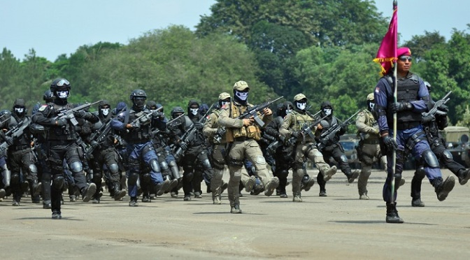 Pembentukan Mako Pasmar III Tinggal Penambahan Personel