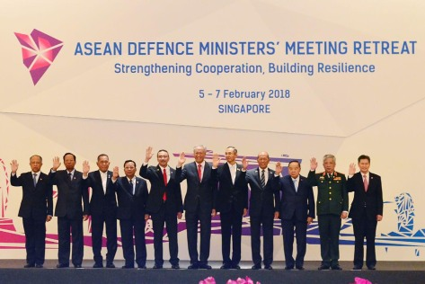 Menhan China Hadiri Pertemuan Menhan ASEAN di Singapura