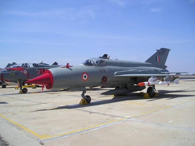 Pesawat Angkatan Udara India Jatuh
