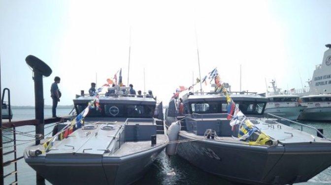 Dua Kapal Patroli TNI AL Diserahterimakan dan Akan Dipakai di Makassar dan Papua