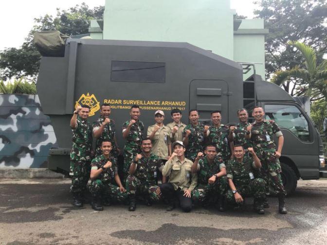 Pelatihan Radar Surveillance Arhanud