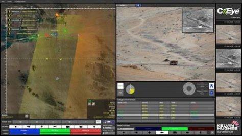 Radar Kelvin Hughes atau Ground Surveyland Radar System (GSRS) (Kelvin Hughes) 1