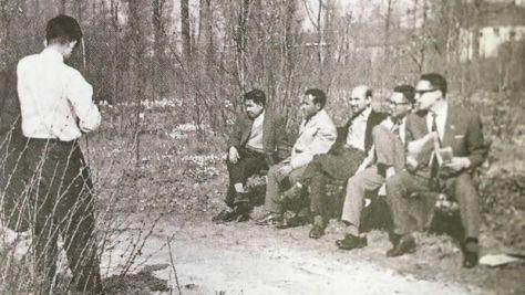 Ramli Kasim, siswa Papua, Momi Sediono Tjondronegoro, M Samadikun, Krisno Nimpuno (Dok. Kwik Kian Gie)