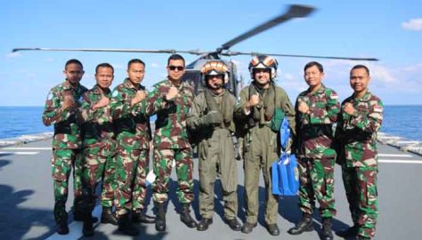 Satgas MTF TNI Latihan 'Fly Exercise' Dengan Brazil (Poskota)
