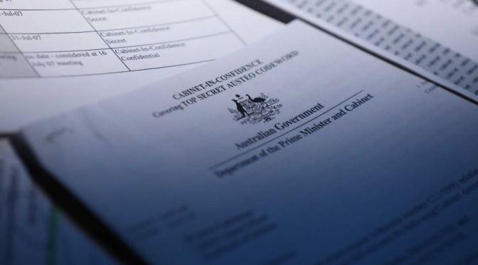 Dokumen Rahasia Australia Ditemukan di Toko Loak