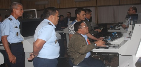 Uji Fungsi Air Deffence System Simulator Di Pusdiklat Hanudnas
