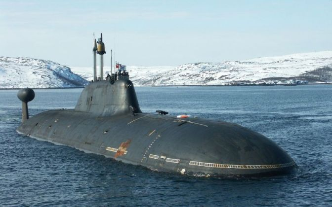 Kapal Selam Nuklir Rusia Dekati Pangkalan Militer Amerika Tanpa Terdeteksi