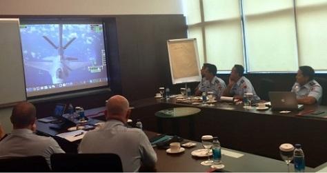 Angkatan Udara Indonesia Australia Pertama Kali Laksanakan Pelatihan Air to Air Refuelling Subject Matter Expert Exchange (Ikahan) 1