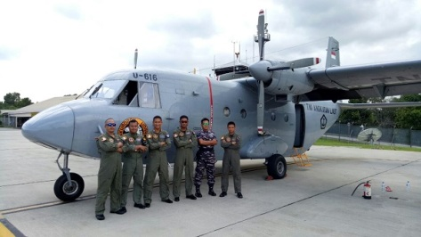 Casa U-616 TNI AL Singgah di Bontang (Bontang Post)
