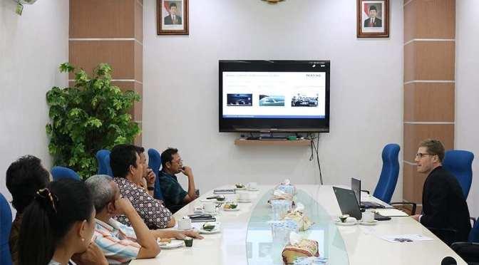 DCNS Grup Jajaki Kerjasama Bidang Kemaritiman Nasional dengan PT PAL