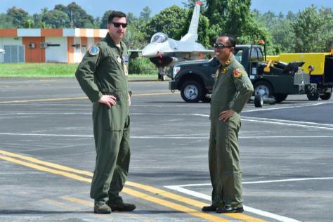 F-16 TNI AU VS USAF dalam Cope West 2018 (TNI AU) 1