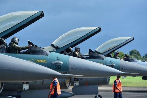 F-16 TNI AU VS USAF dalam Cope West 2018 (TNI AU) 3