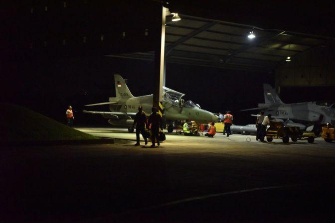 Skadron Udara 1 Latihan Terbang Malam
