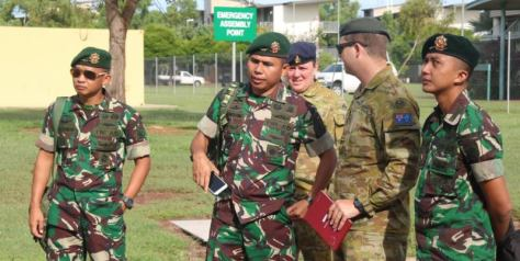 IPC Latma Wirra Jaya Ausindo Di 5 RAR Battalion Australia