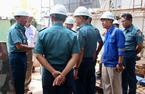 Kadisadal Tinjau Progres Pembangunan LPD 124 M