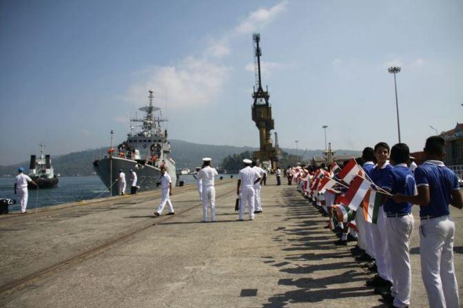 Multilateral Exercise Milan 18 di Perairan Andaman