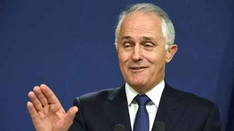 Malcolm Turnbull (Herald Sun)