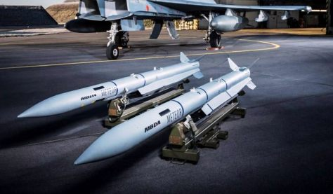 Meteor missile, operational range 100+ km, speed over mach 4 (MBDA)