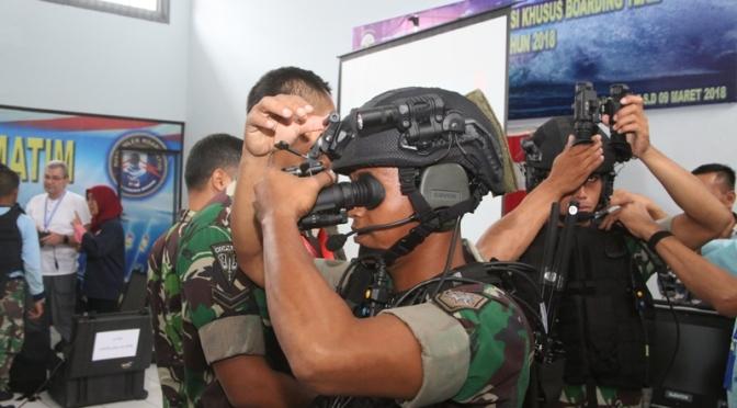 Pengenalan Alat Komunikasi Savox Communication untuk TNI AL