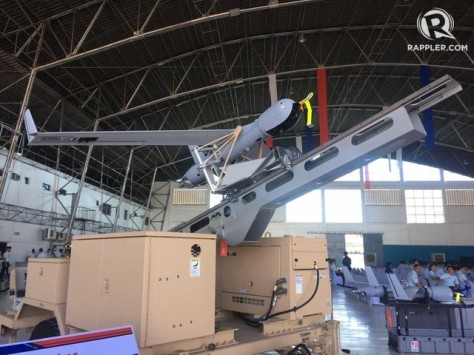 ScanEagle UAV for PAF (Rappler)
