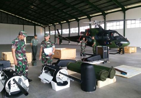 Uji Tembak Fennec TNI AD (Lampost)