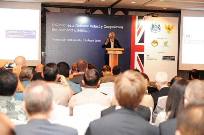 Di Bidang Industri Pertahanan, Inggris Ingin Gali Potensi Kerja Sama Dengan Indonesia
